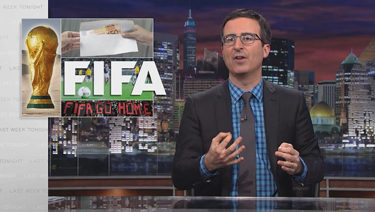 John Oliver nimmt sich die FIFA vor