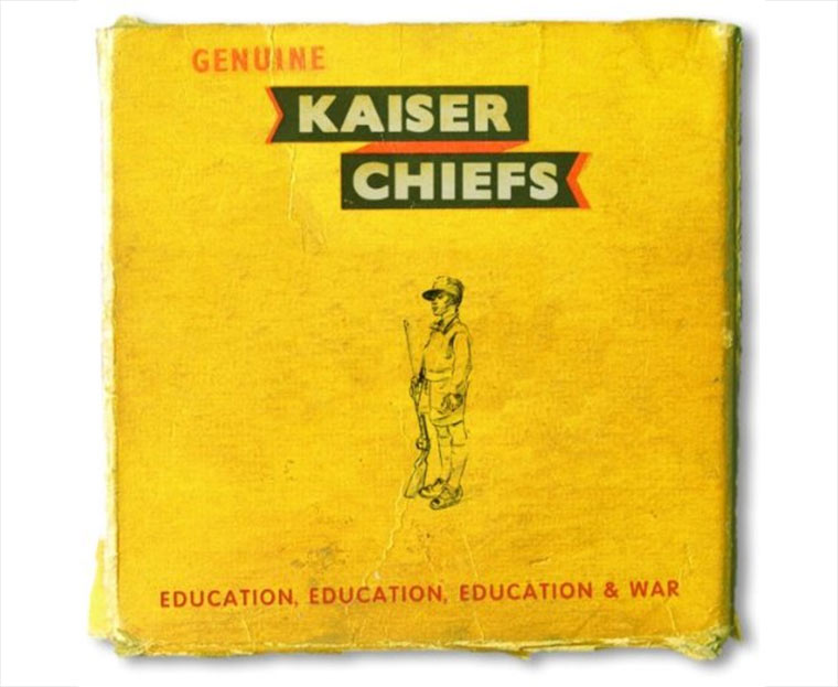 Kaiser Chiefs - Education,Education,Education & War