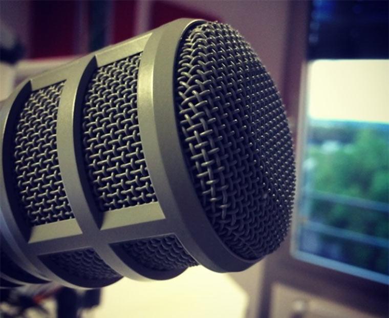 Ich war im Radio kanalC