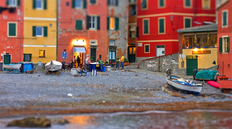 Tilt-Shift: Little Liguria little_liguria