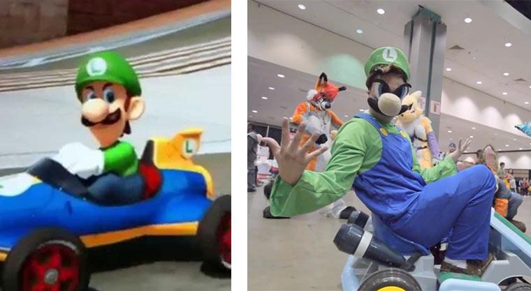Luigis Death Stare luigisdeathstare