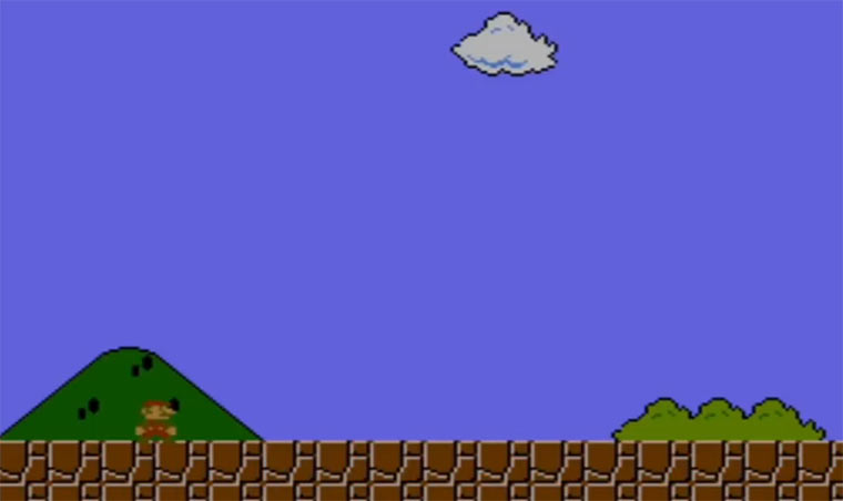 Analyse: Super Mario Bros. Level 1-1 mario_1-1