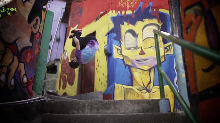 Parkour durch die Favela parkourbrazil
