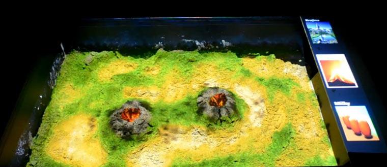 Sandkasten-Projektion sandkastenprojektion