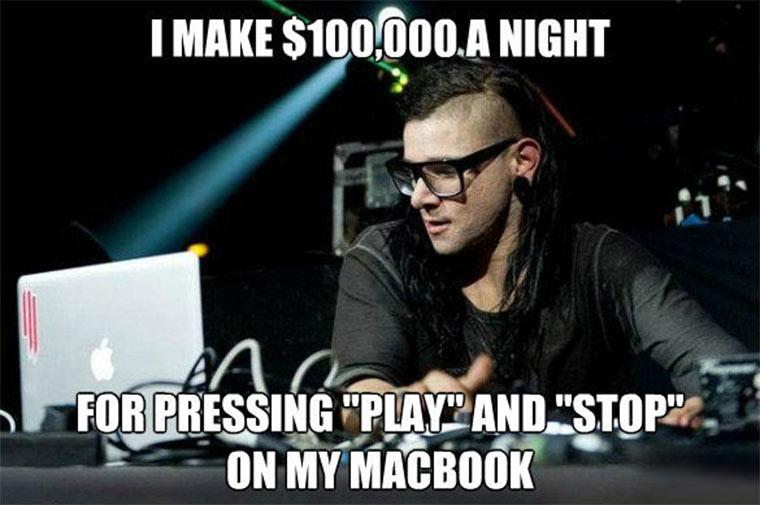 Was DJs eigentlich die ganze Zeit machen skrillex