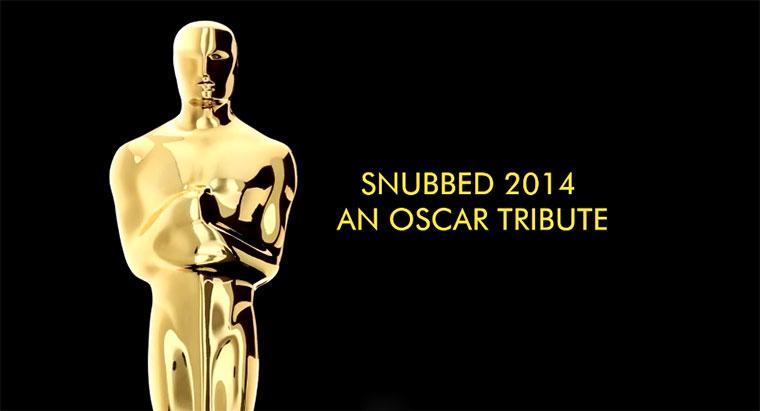 Tribute an Oscar-übergangene Filme 2014 snubbed2014