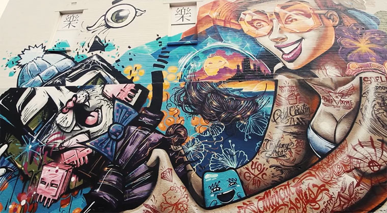 Graffiti: SOFLES x ALLEYCAT