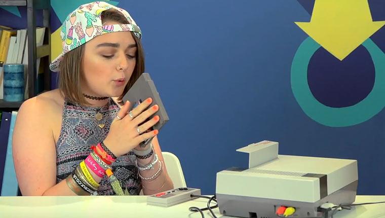 Teenagers Reaktionen auf ein NES