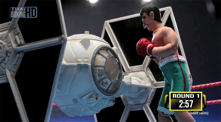 Thai Fighter vs. Tie Fighter