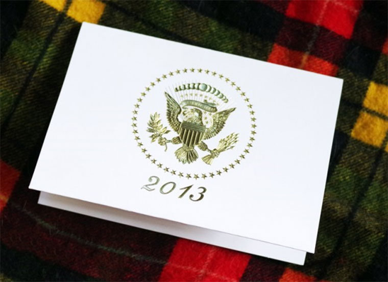 White House Pop Up Christmas Card whitehousexmascard_02