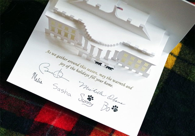 White House Pop Up Christmas Card whitehousexmascard_03