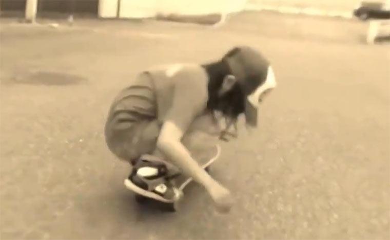 Skateboarding: Isamu Yamamoto yamamoto