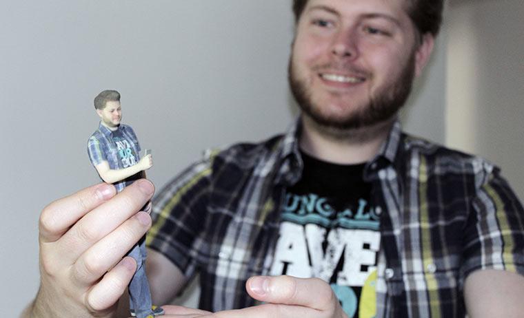 Gewinnspiel: Lass Dich selbst in 3D drucken!