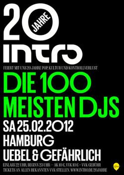 Hamburg-Veranstaltungs-Tipps: 101 DJs 20JahreIntro_HH