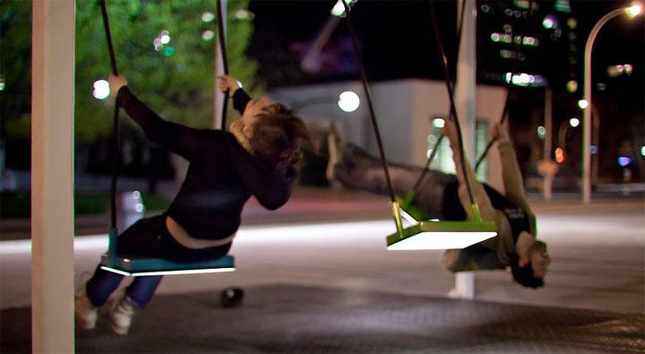 Schaukelnd musizieren: 21 Swings 21_swings