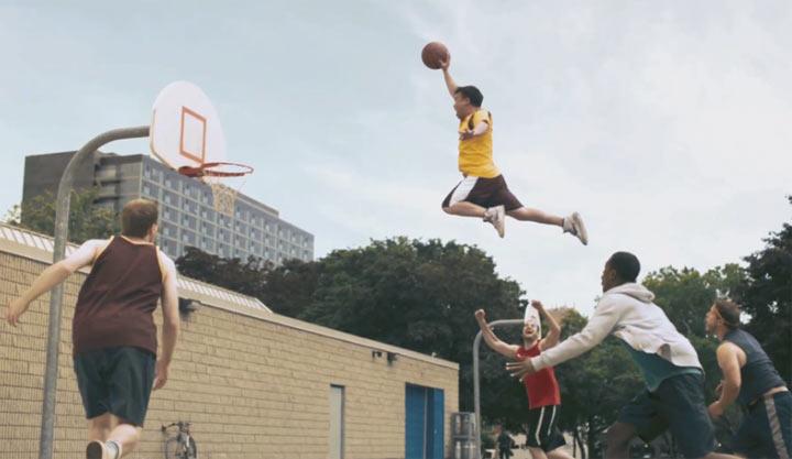 Sport: wenn Jungs Mädchen beeindrucken wollen AXE_sportblast