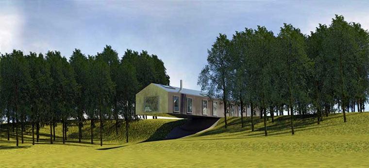 Hoteldesign The Balancing Barn Au Ergew Hnliches Schaukelerlebnis
