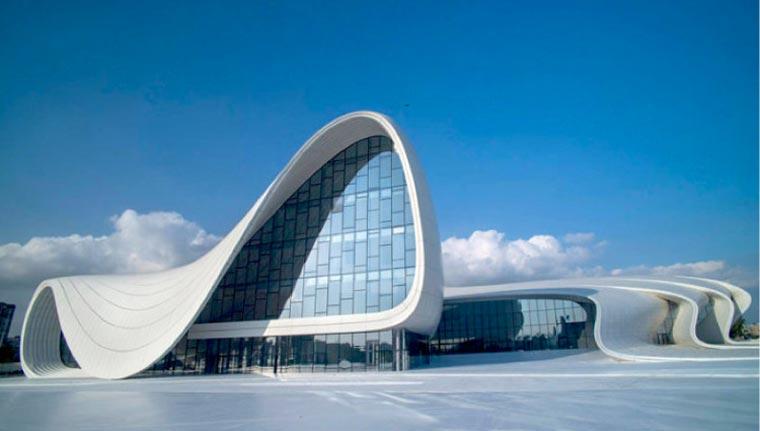 Heydar aliyev cultural center feinste architektur in aserbaidschan - Zaha hadid architektur ...
