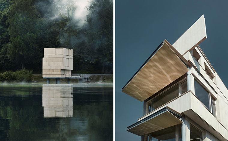 Architektur: Zielturm Rotsee Zielturm_Rotsee_02