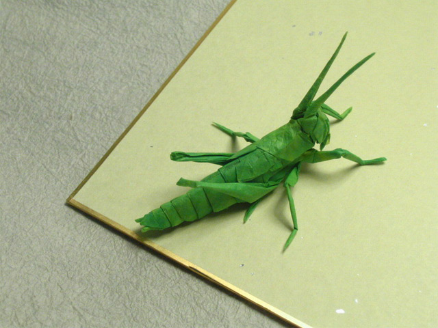incredible origami insects by Bryan Chan
