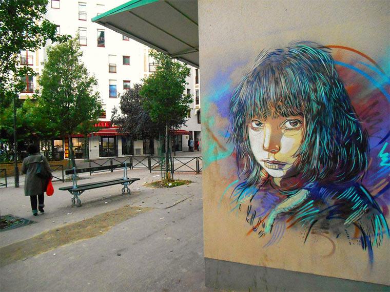 Neues von Street Artist C215 C215_2014_02