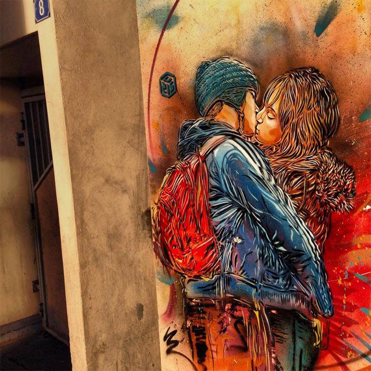 Neues von Street Artist C215 C215_2014_03