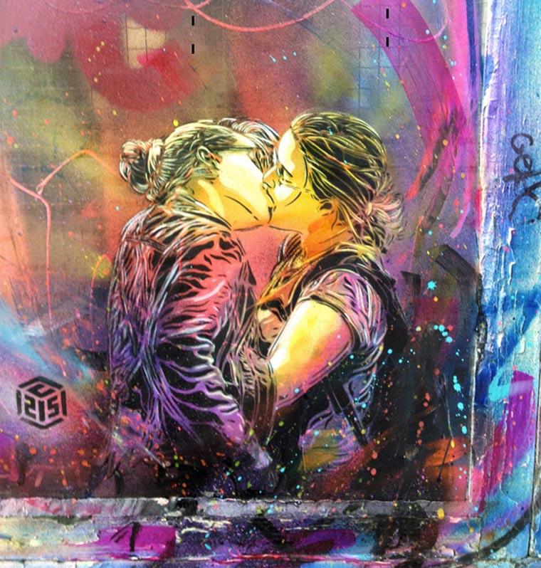 Neue Murals von Street Artist C215 C215_2_01