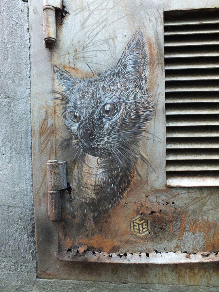 Neue Murals von Street Artist C215 C215_2_03