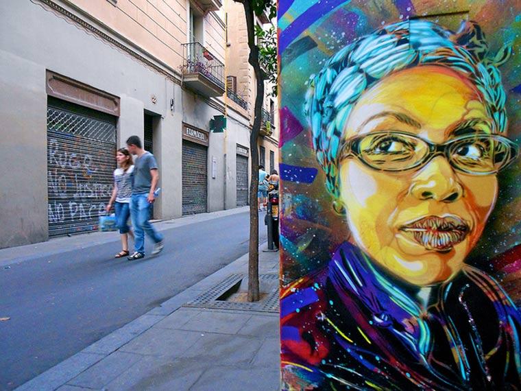 Neue Murals von Street Artist C215 C215_2_04