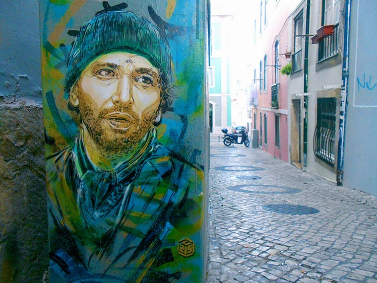 Neue Murals von Street Artist C215 C215_2_06