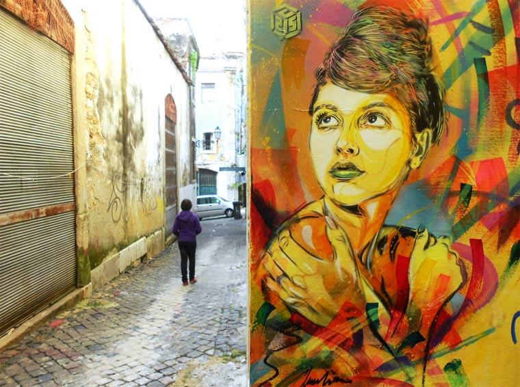 Neue Murals von Street Artist C215 C215_2_11