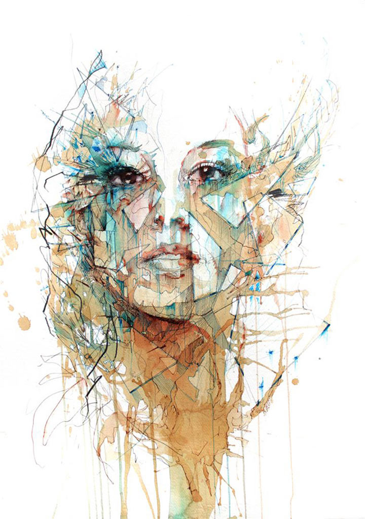 Portraits aus Wodka, Whisky, Tee & Tinte Carne_Griffiths_03