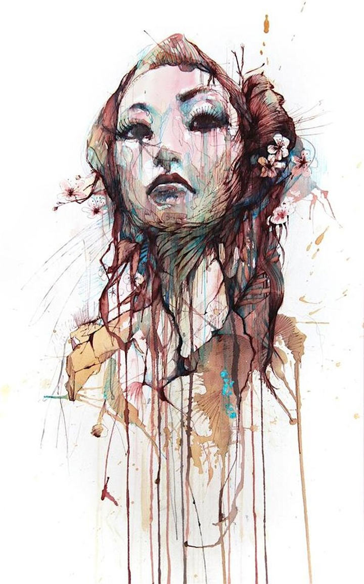 Portraits aus Wodka, Whisky, Tee & Tinte Carne_Griffiths_04