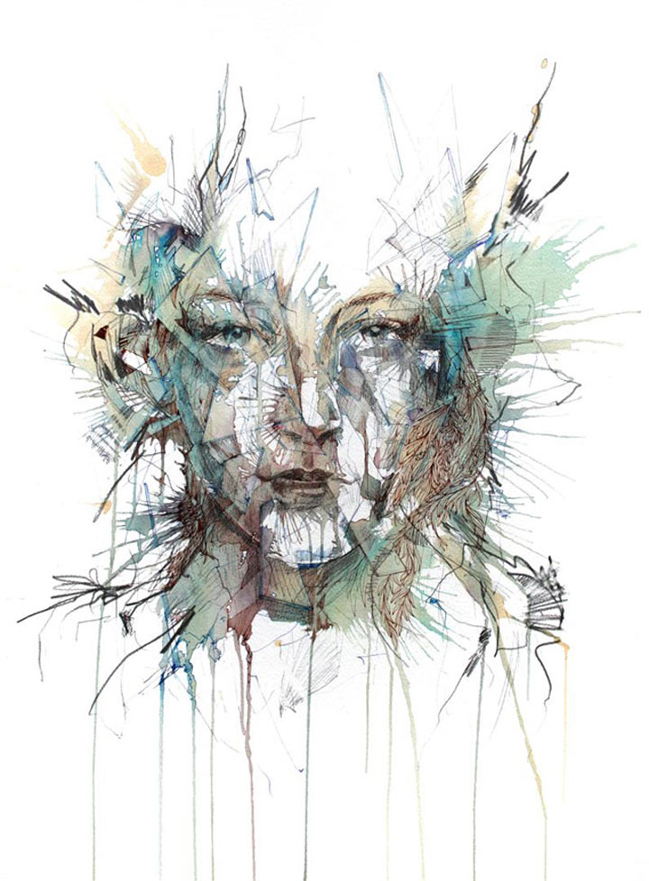 Portraits aus Wodka, Whisky, Tee & Tinte Carne_Griffiths_05
