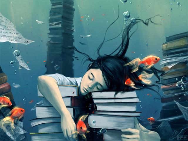 digital paintings by Cyril Rolando