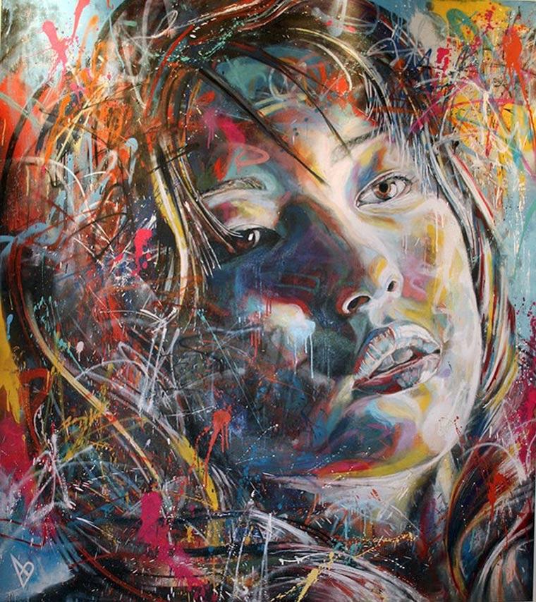 Street Art: knallbunte Portraits von David Walker David_Walker_03