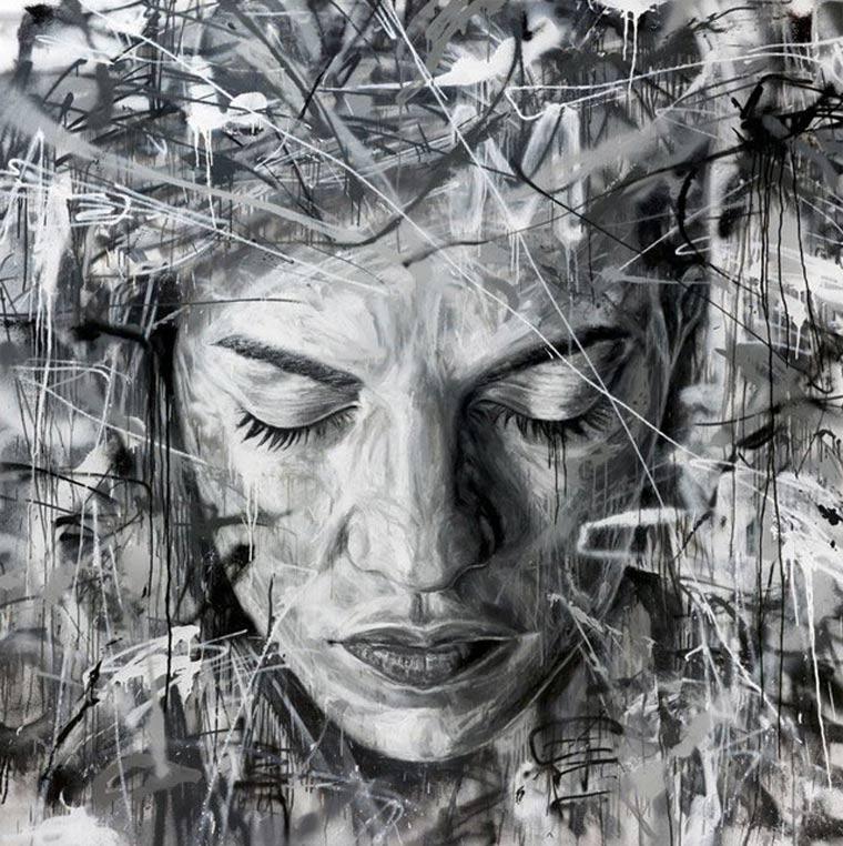 Street Art: knallbunte Portraits von David Walker David_Walker_04