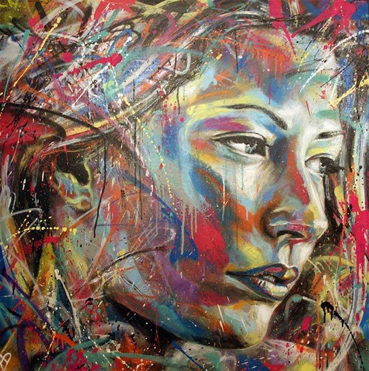 Street Art: knallbunte Portraits von David Walker David_Walker_05