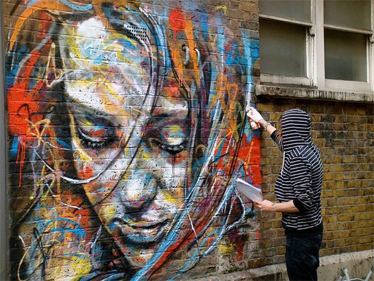 Street Art: knallbunte Portraits von David Walker David_Walker_06