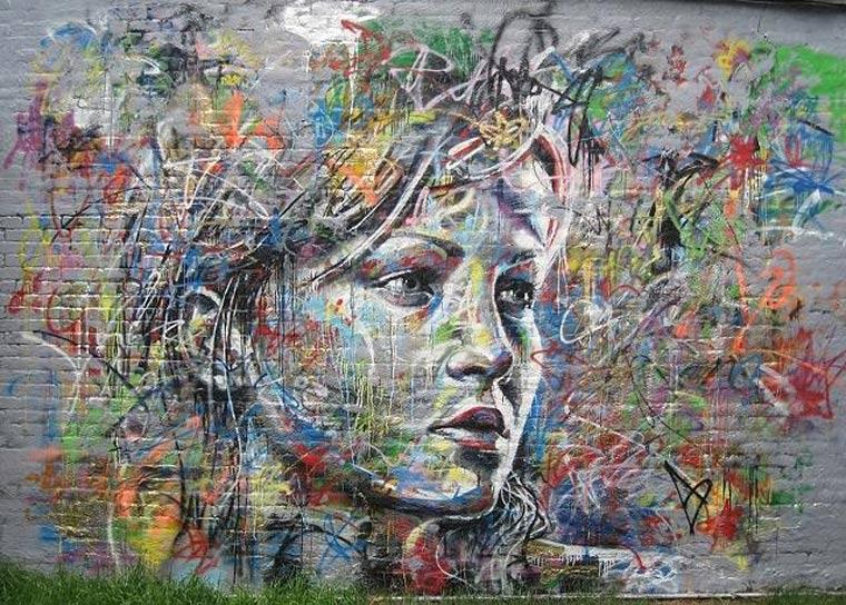 Street Art: knallbunte Portraits von David Walker David_Walker_07