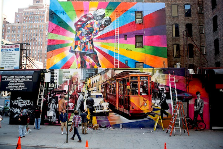 Bunte Street Art: Eduardo Kobra Eduardo_Kobra_01