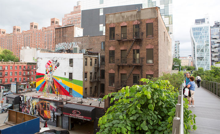 Bunte Street Art: Eduardo Kobra