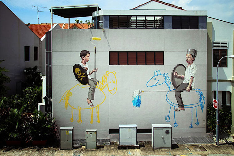 Street Art: Ernest Zacharevic Ernest-Zacharevic_01