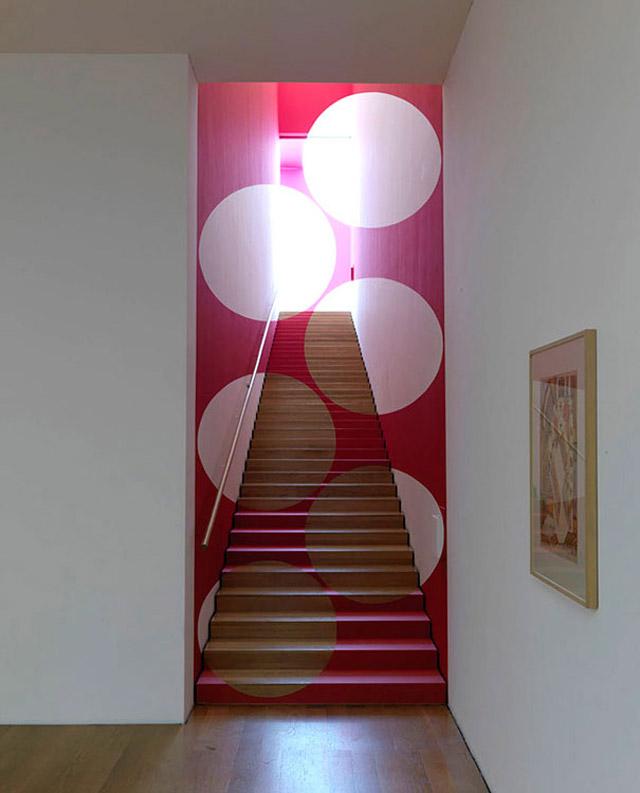 anamorphic art by Felice Varini