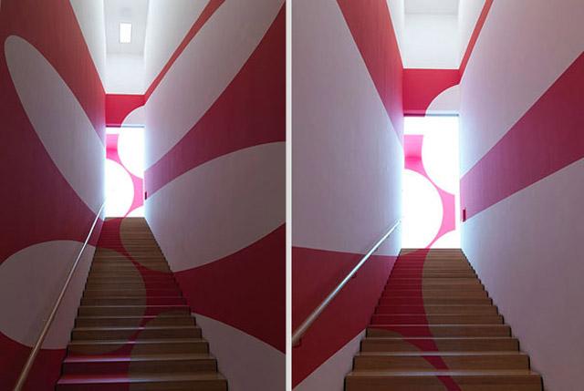 Neue perspektivische Gemälde von Felice Varini Felice_Varini_2_02
