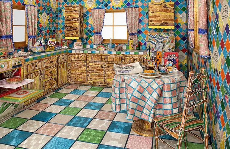 Eine Küche aus Glasperlen Glasperlenkueche_01
