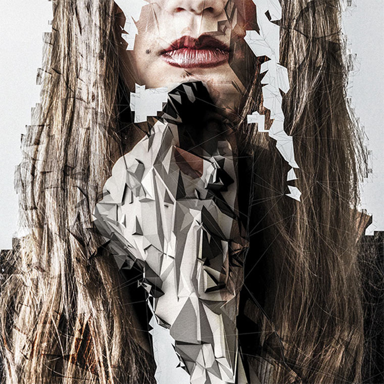 Polygon-zerstörte Frauenportraits Jake_Stollery_01