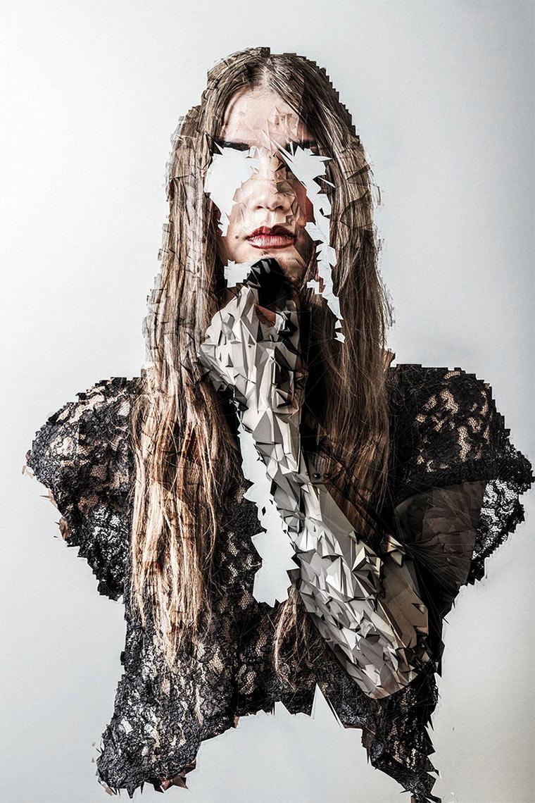 Polygon-zerstörte Frauenportraits Jake_Stollery_03