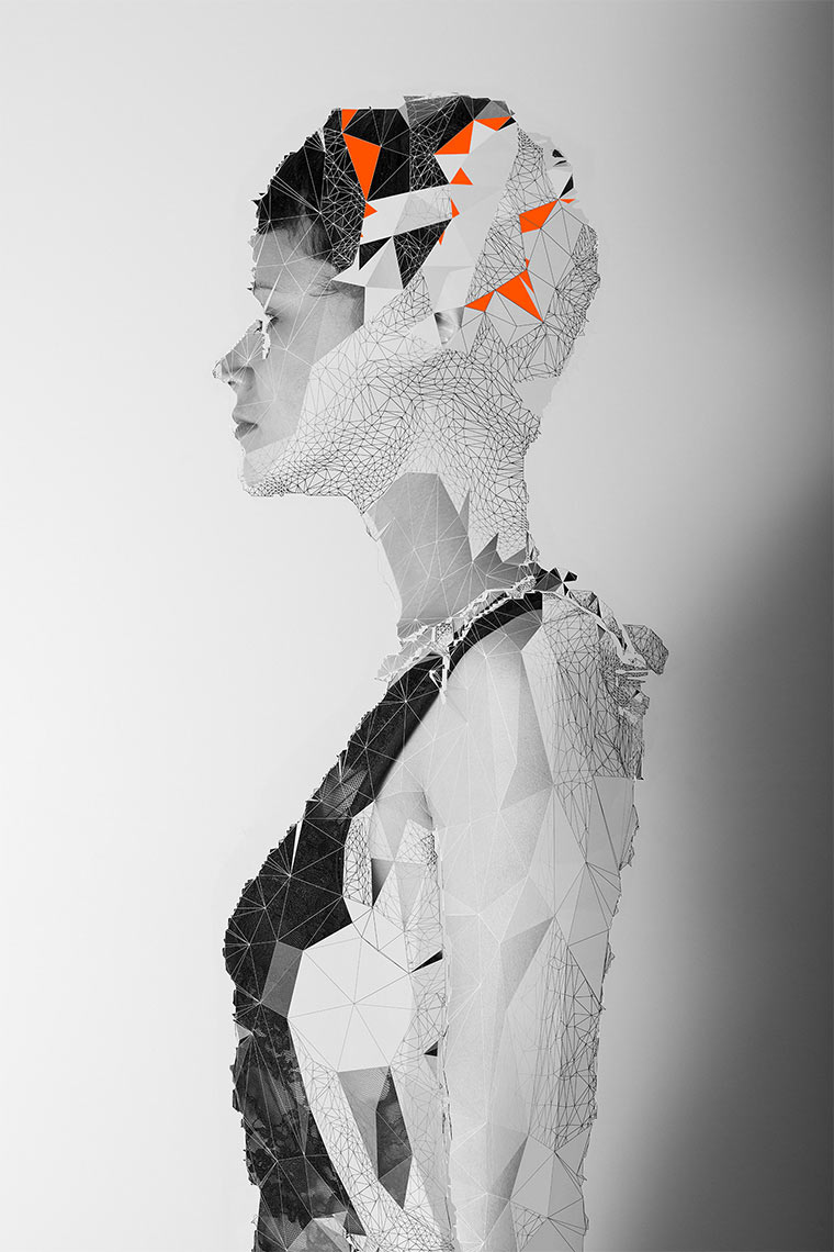 Polygon-zerstörte Frauenportraits Jake_Stollery_06