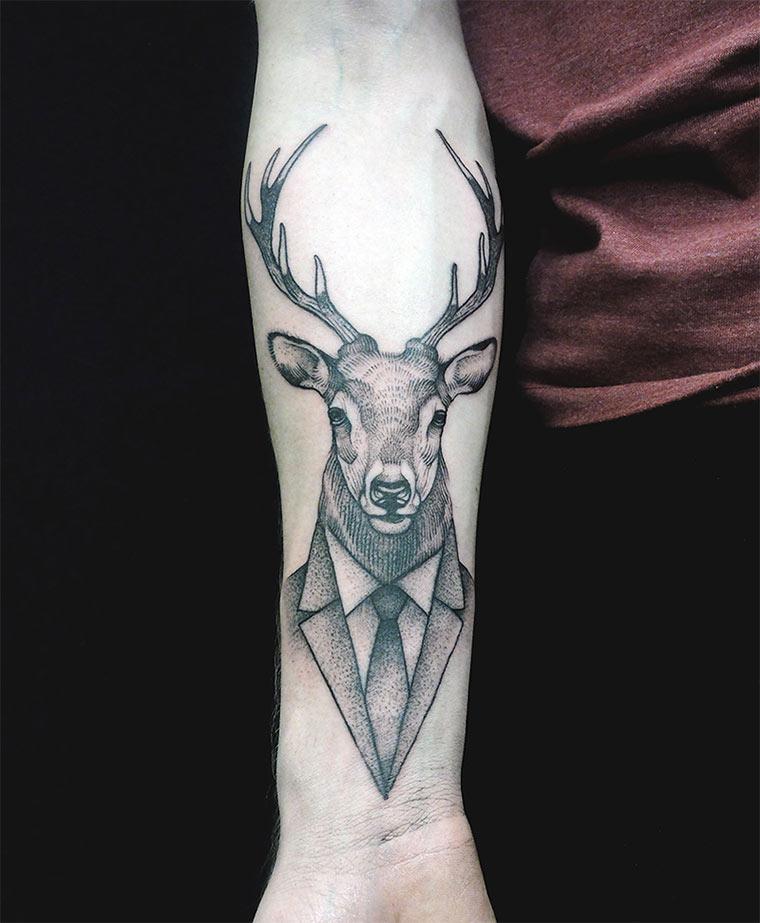 Tattoos & Zeichnungen: Jan Mráz